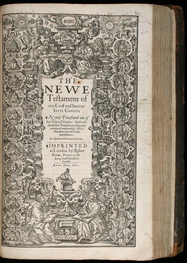 "18: King James ""She"" Bible, 1613-1611"