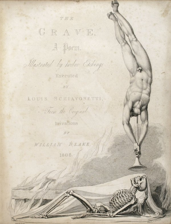 19: The Grave 1808 William Blake Engravings