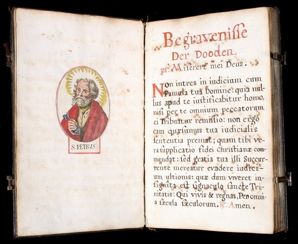 23: Manuscript Dutch Breviary with portions printed