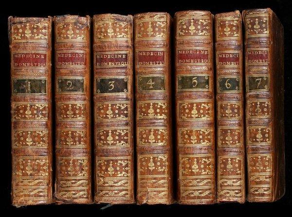 24: Buchan's Domestic medicine in French 1781-2