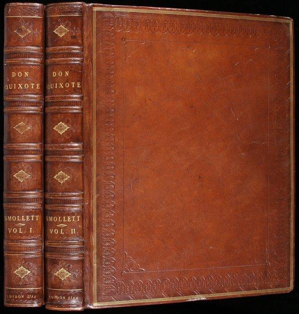 35: 1755 Edition of Don Quixote - 28 Engravings