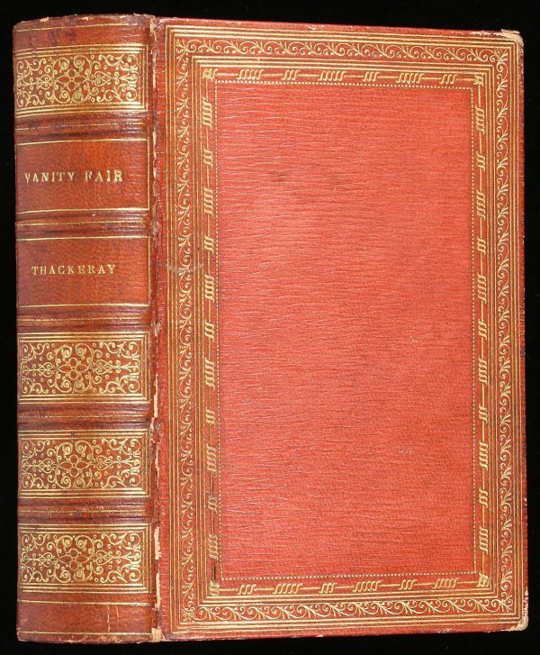 87: Vanity Fair - Fore-Edge Painting by Miss Currie