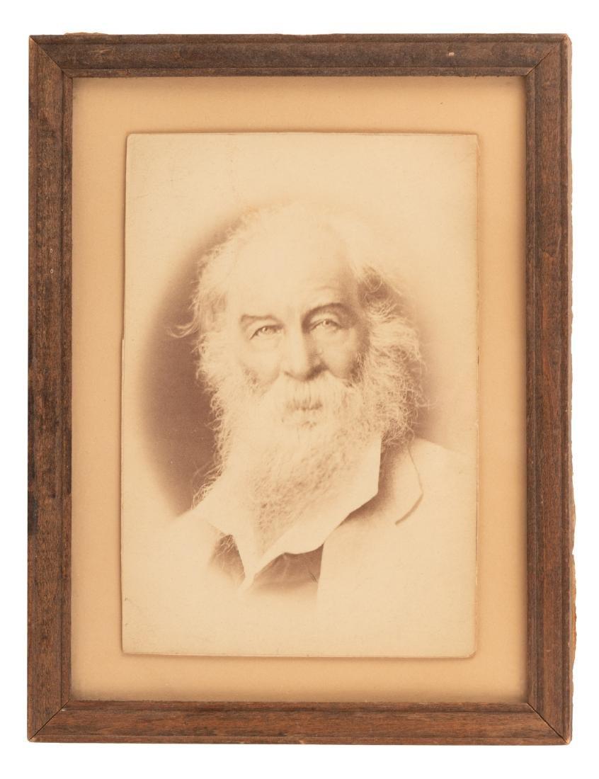 Albumen photograph of Walt Whitman