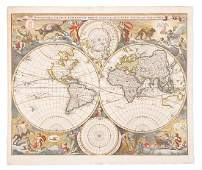 Visscher world map California an island