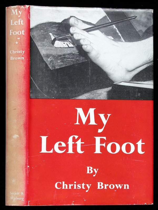 1017: Christy Brown's My Left Foot first edition