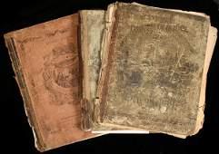 1426: Lot of 8 Civil War era School Atlases