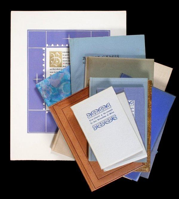 1: Collection of Valenti Angelo: Sgd Ltd books, etc.