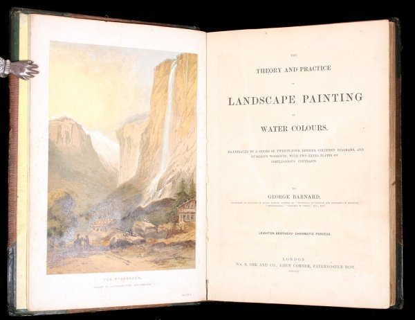 7: Barnard's Theory and Practice of Water Colour