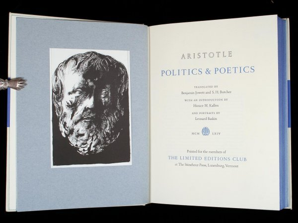 8: Aristotle Politics and Poetics LEC Sgd. by Baskin