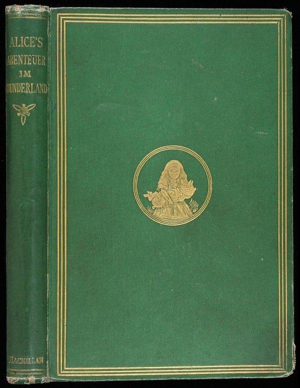 14: Carroll, Alice's Adventure in..1st German Ed 1869