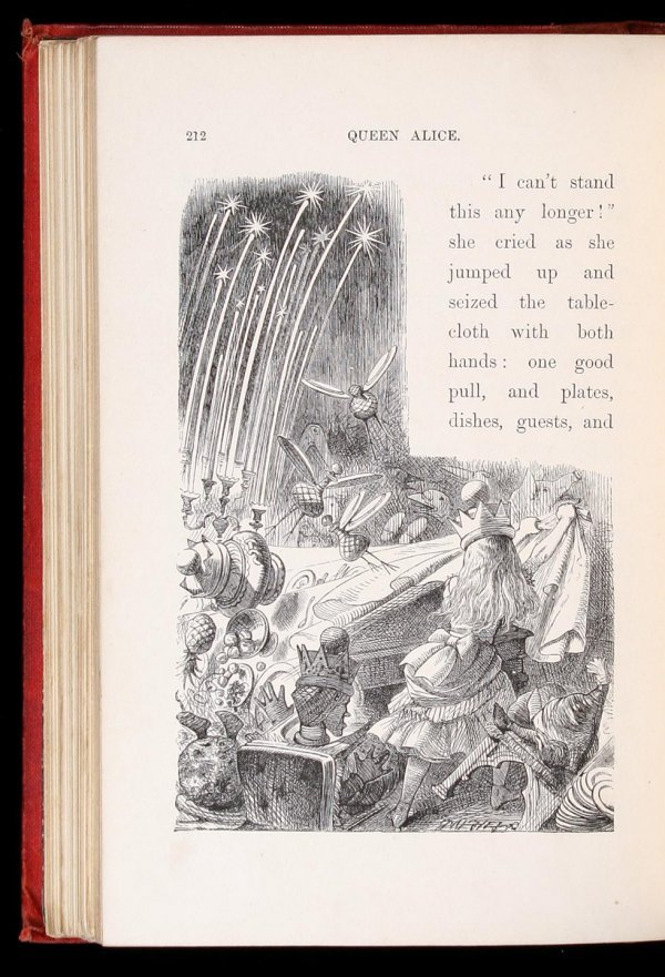 16: Lewis Carroll, Through the Looking-Glass 1st Ed.