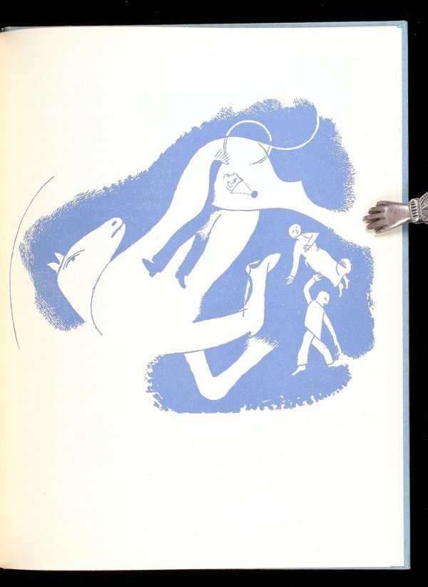 17: Goll, Diary of a Horse, 4 Marc Chagall drawings