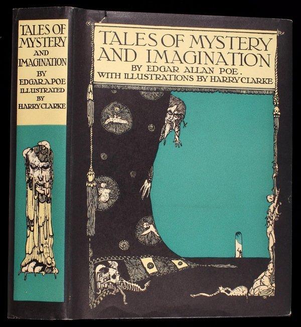 22: Poe's Tales of Mystery & Imagination Clarke illus