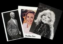 453 Autograph collection letters photos celebrities