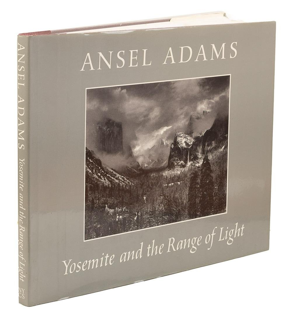 Signed by Ansel Adams, 1st Edition