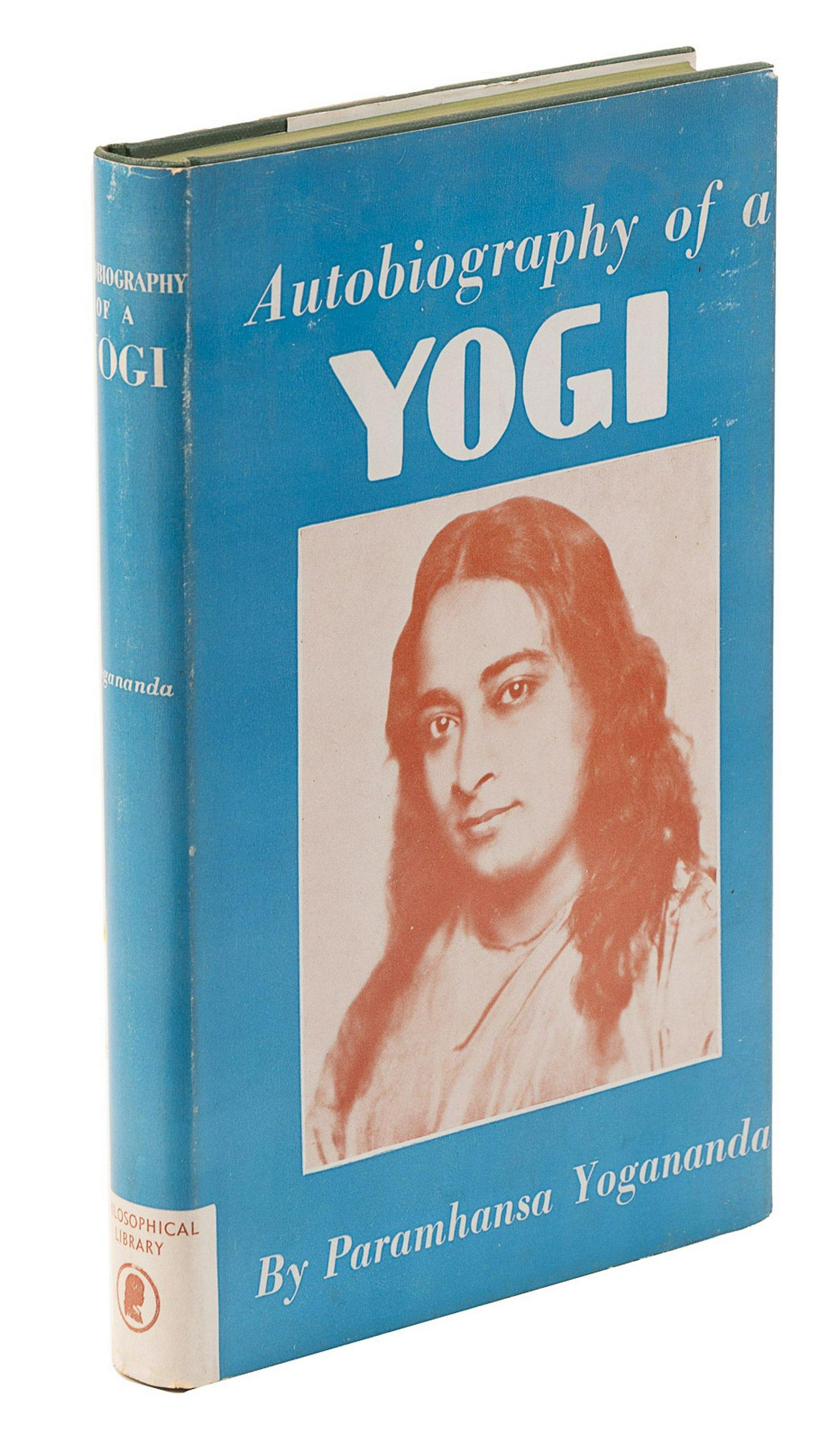 Autobiography of a Yogi 1st ed w/jacket