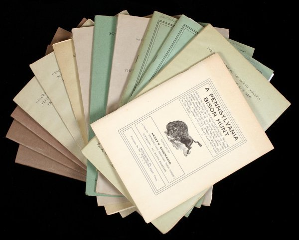 1002: Collection of pamphlets on the American Bison