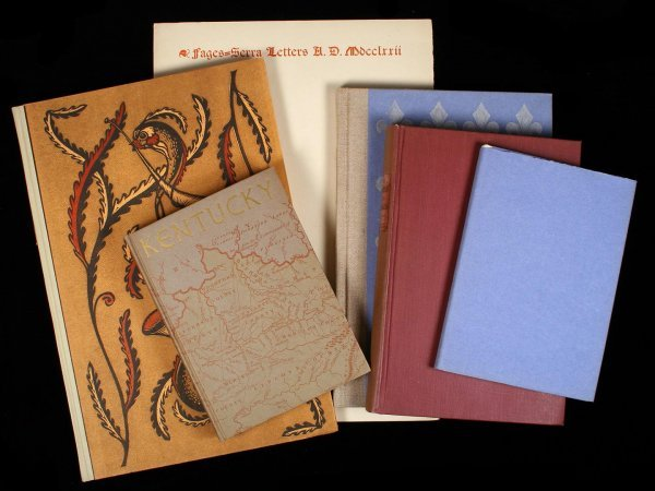 1006: Lot of 6 Fine Press Americana volumes