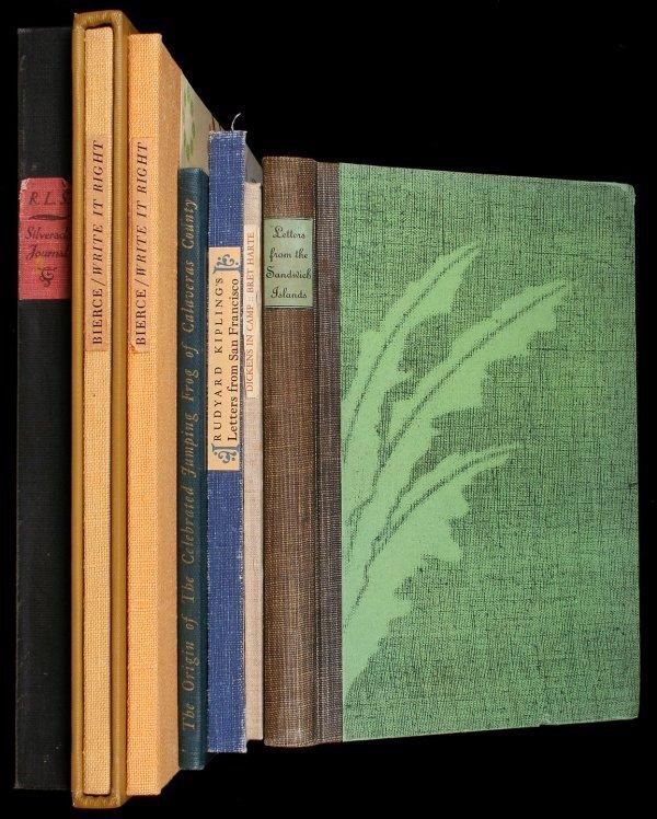 1007: Lot of 7 Fine Press Americana volumes