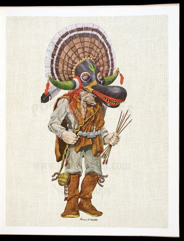 1018: Boelter, Portfolio of Hopi Kachinas, Ltd 1st Ed.