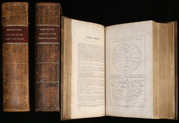 1022: New American Practical Navigator 1852, 53, 57