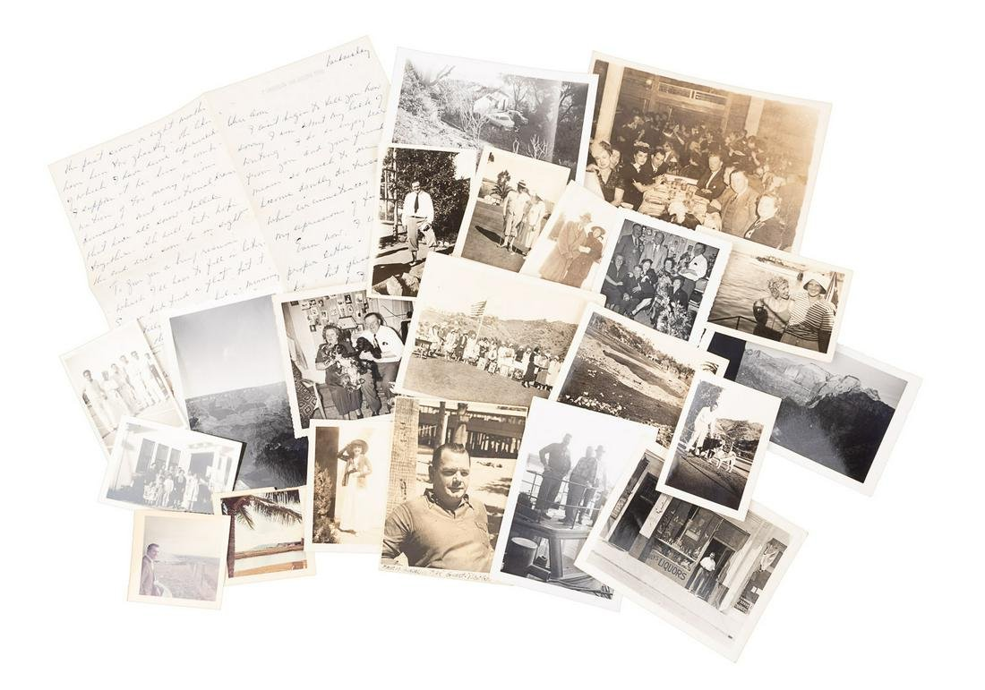 Golf in the 1930s, a file of photographs