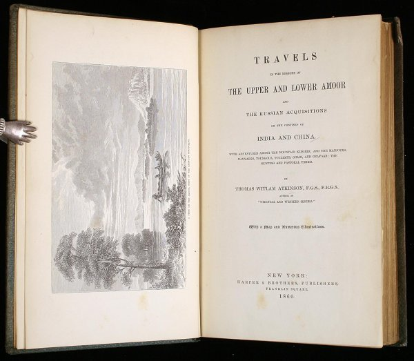2015: Atkinson's Travels on the Amoor 1860