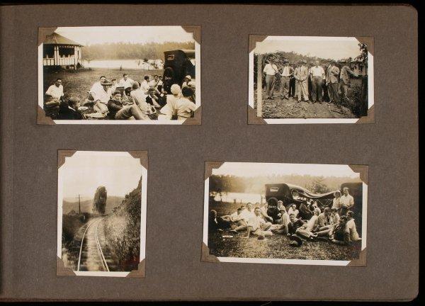2016: Photograph album Australia & New Zealand 1920's