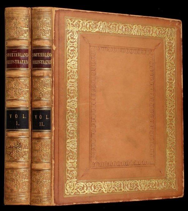 2019: Switzerland Illustrated 1836 Bartlett Engravings
