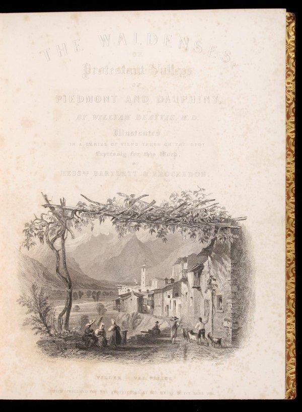 2020: William Beattie The Waldenses 1838