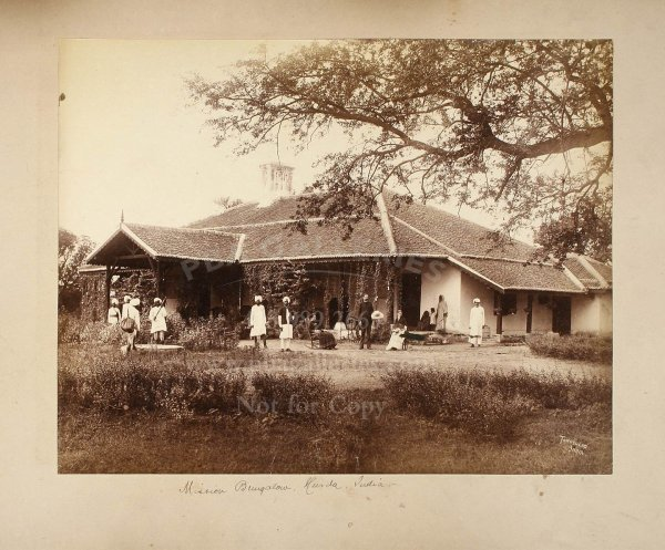 2114: 19th century photograph album of India & Ceylon