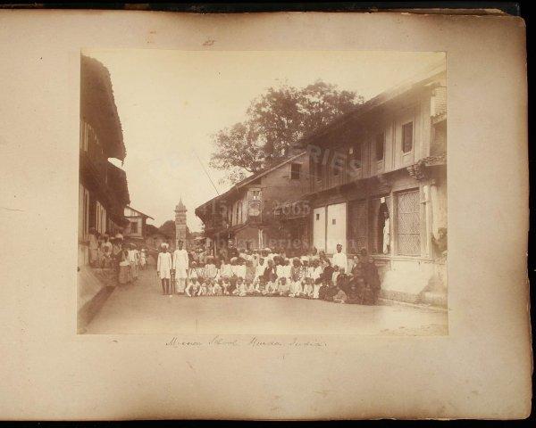 2114: 19th century photograph album of India & Ceylon - 2