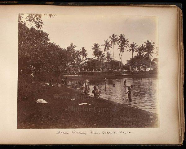 2114: 19th century photograph album of India & Ceylon - 3