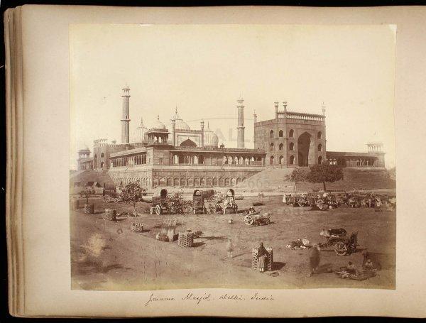 2114: 19th century photograph album of India & Ceylon - 5