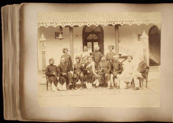 2114: 19th century photograph album of India & Ceylon - 7