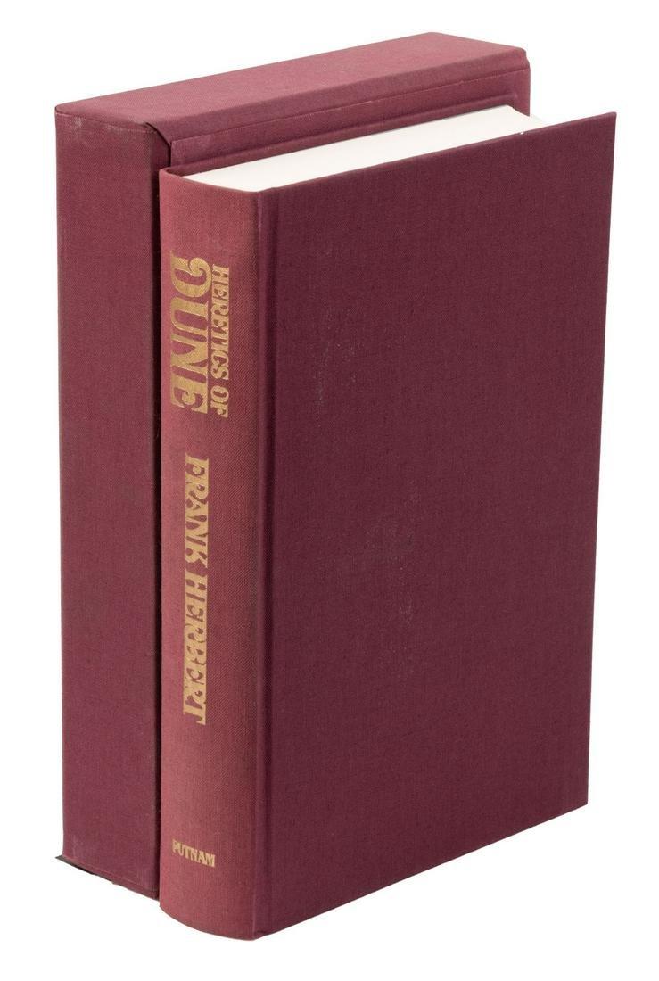 Signed & Limited Herbert's Heretics of Dune