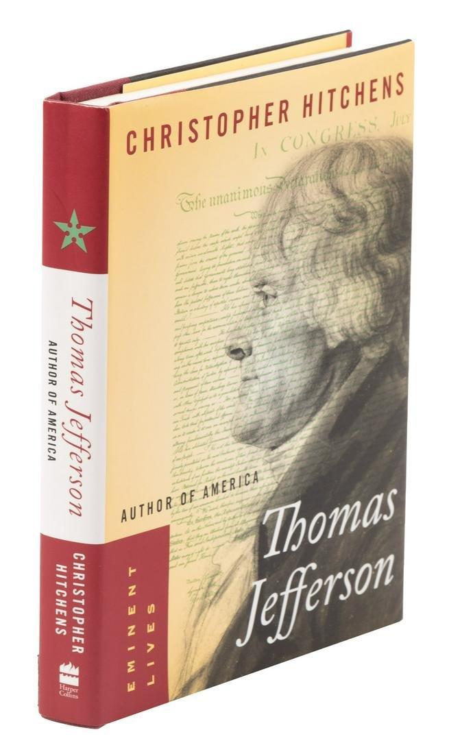 Christopher Hitchens Thomas Jefferson - inscribed