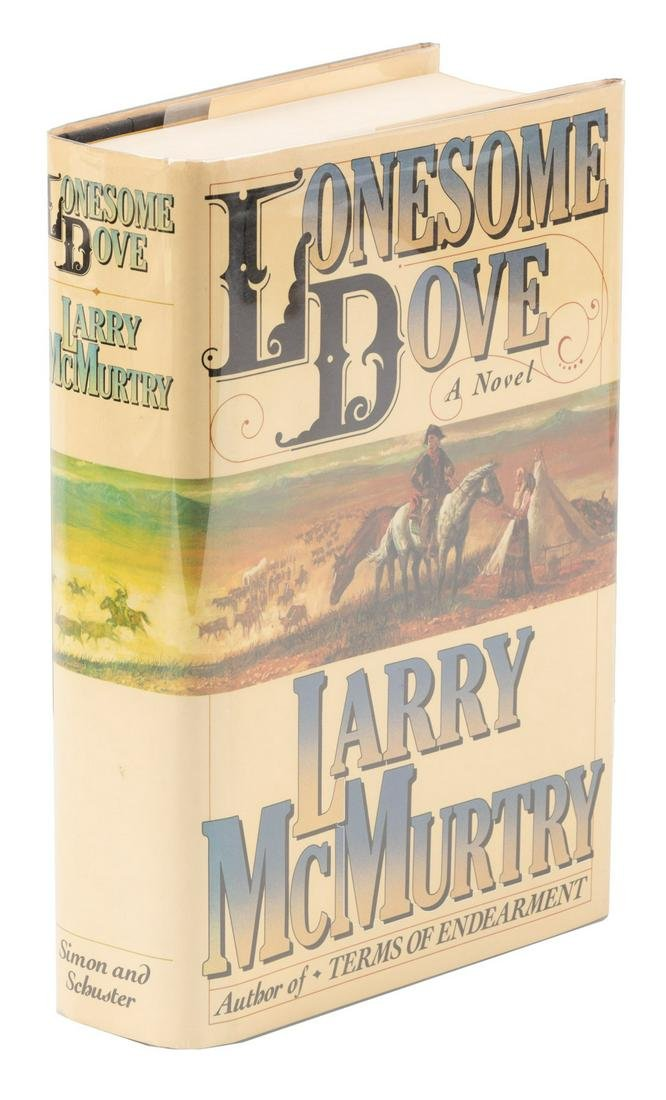 Signed 1st Edition Lonesome Dove