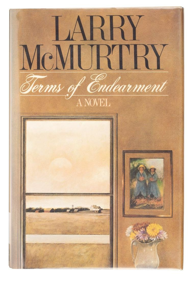 Terms of Endearment Larry McMurtry 1st Edition Signed