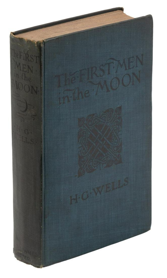The First Men in the Moon H.G. Wells 1st British
