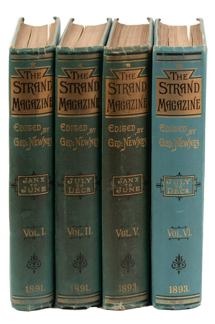 4 vols. of The Strand 1891-93