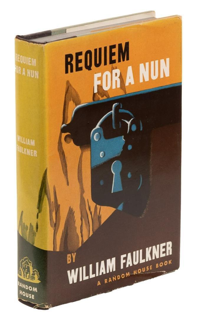 Faulkner, Requiem for a Nun. 1st. Trade Edition.