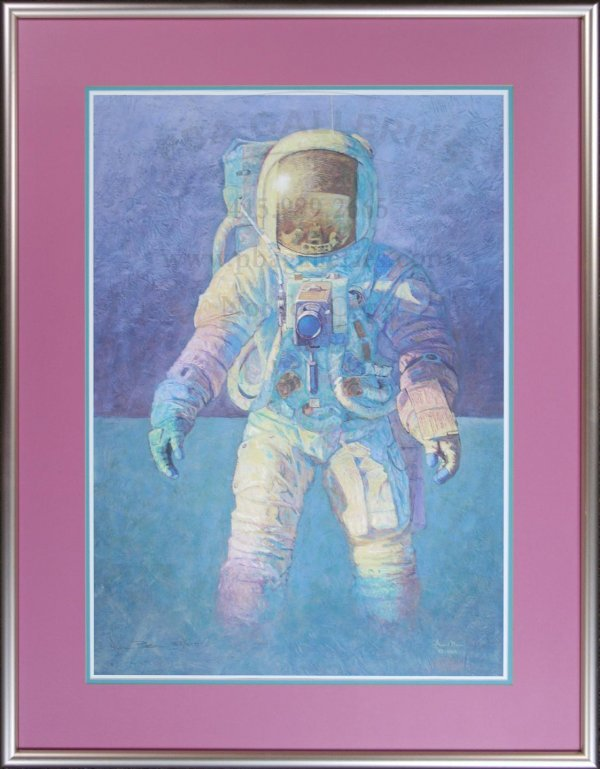 3010: Signed Astronaut Print by Alan Bean
