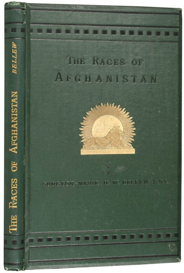 3024: Bellew on the Races of Afghanistan 1880