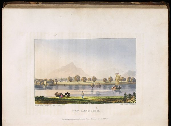 1: Clarke Abel's Journey to China 1819 color plates