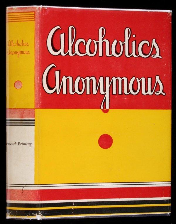 16: Wilson, Alcoholics Anonymous 1st Ed. 14th Ptg. dj
