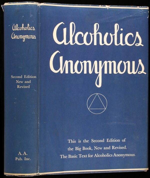19: Wilson, Alcoholics Anonymous 2nd Ed. 1st Ptg. dj