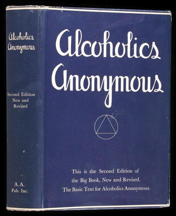 20: Wilson, Alcoholics Anonymous 2nd Ed. 2nd Ptg. dj