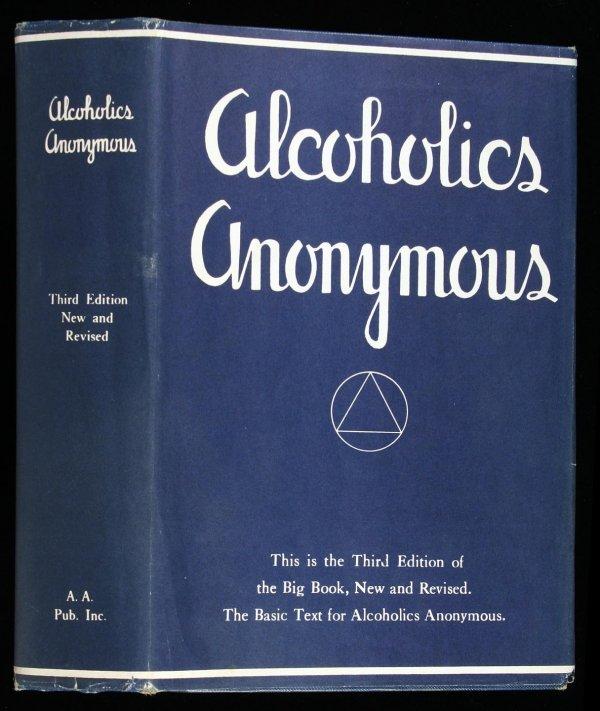 21: Wilson, Alcoholics Anonymous 2nd Ed. 3rd Ptg. dj