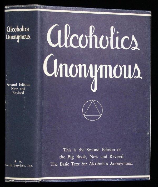 22: Wilson, Alcoholics Anonymous 2nd Ed. 4th Ptg. dj
